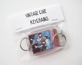 vintage Cure keychain assortment