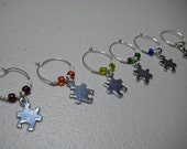 Missing Pieces - Wine Charms