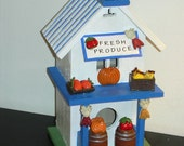 Produce stand miniature