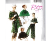 Retro Butterick '52 Wrap & Caplet B4927