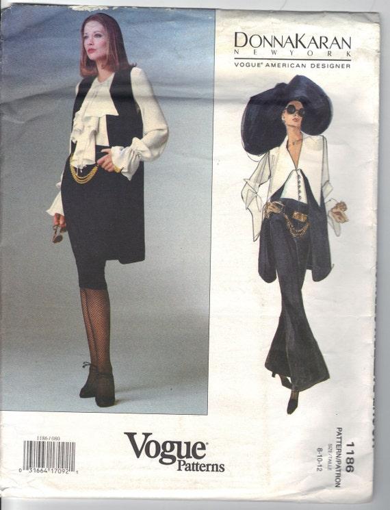 Donna Karan New York Vogue American Designer 1186  Misses/Petites