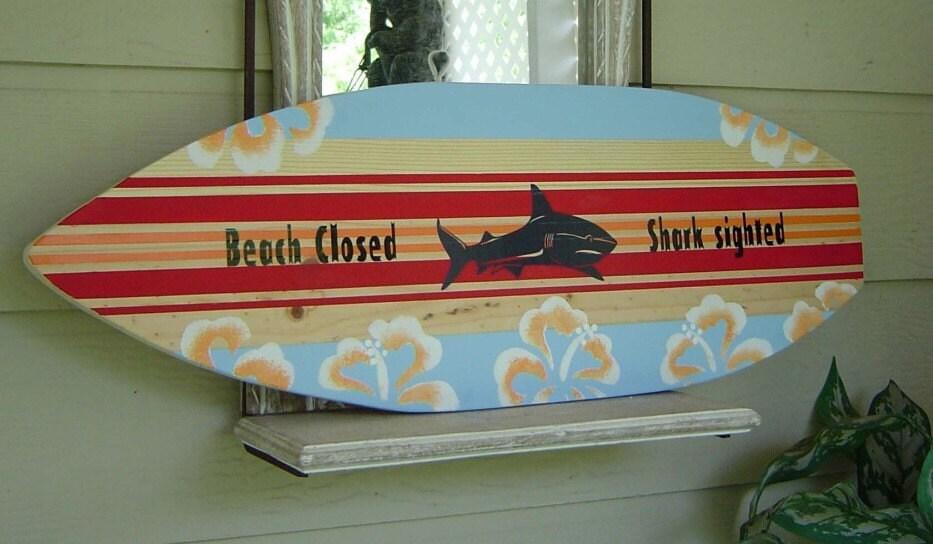 items similar to 27 inch surfboard wall art beach sign hawaiian surf wall decor custom. Black Bedroom Furniture Sets. Home Design Ideas