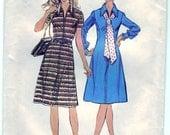 Vintage 1972 Simplicity 5093 Sewing Pattern Women's Princess Dress Size 20-1/2 Bust 43