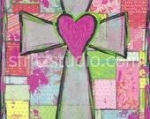 Patchwork Cross, print 13