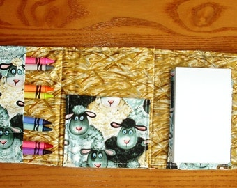 I Love Ewe Coloring Wallet