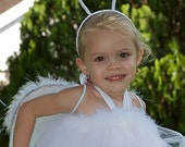 Angel Tutu Dress 0-5T  Great for Halloween Christmas Parties or Portraits