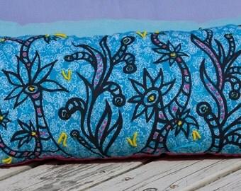 Blue Garden Pillow