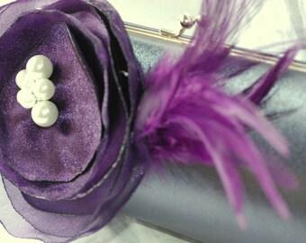 Custom Bridesmaid Clutch Collection | Personalized Clutch | Bridesmaid Gift Idea | Custom Clutches | Formal Clutch | Prom Purse | Silver