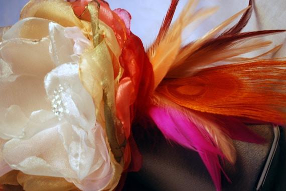 Bridesmaid Clutch - Bridesmaid Bouquet Clutch - Bridesmaid Gift Idea - Personalized Clutch