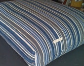 Blue Stripes Floor Cushion On Sale