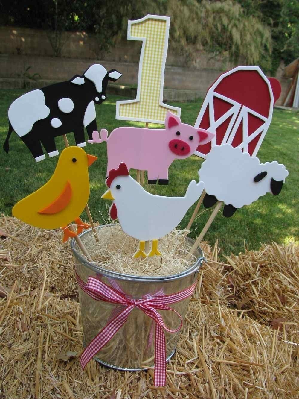 Barn Farm Theme Centerpiece Decorations-RESERVED for MegSmilin