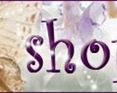 FAIRIES ---- Etsy Shop Professional Custom Banner and Avatar