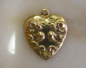 Beautiful Floral Brass Pendant