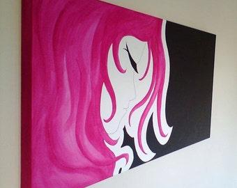 Imagine - Large Original Acrylic Painting on Canvas