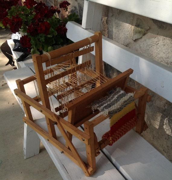 Miniature Weaving Loom