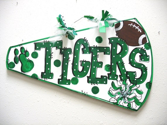 Items similar to Megaphone Cheer Wall Decor on Etsy