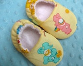 baby toddler soft soled shoes 'Care Bears' cotton soft soled shoes 0-6 6-12 12-24 2T