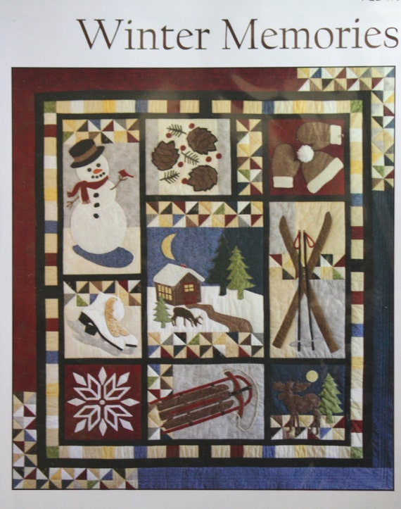 Winter Memories Quilt Pattern Poor House Designs