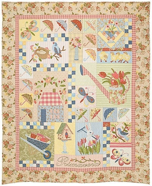 Primavera Heirloom Quilt Pattern Verna Mosquera The