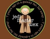 STAR WARS personalized tshirt or onesie (birthday option)