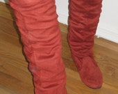 Vintage Pirate eighties slouch over the knee boots 8