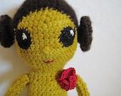 Hopi Squash-Blossom Girl Doll