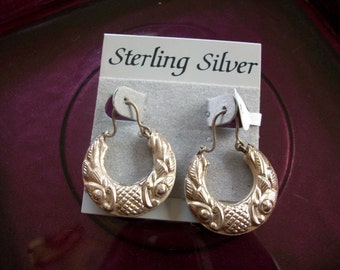 Sterling Silver Vintage Earrings  FREE SHIPPING