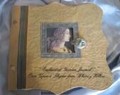 Enchanted Garden Altered Journal