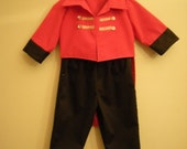 Ring Master children costume special occasion/ Birthday theme