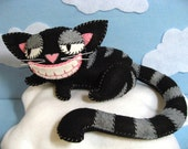 Cheshire Cat Plush in 2 Sizes instant download pattern