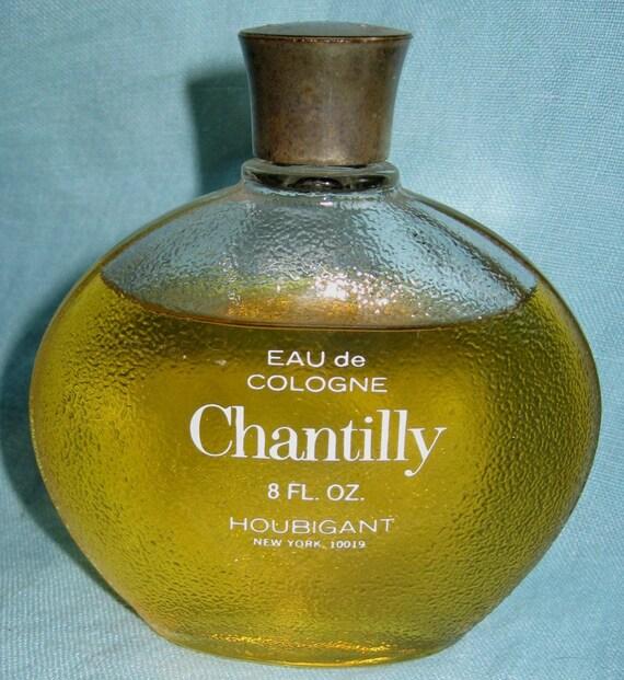 Vintage Chantilly Perfume Bottle Houbigant 8 Oz