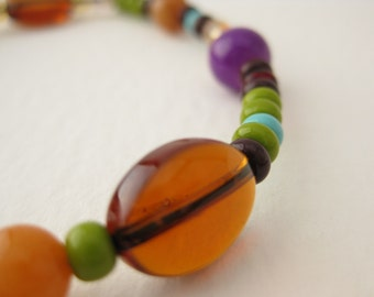 CLEARANCE, Colorful Stretch Bracelet, B 115