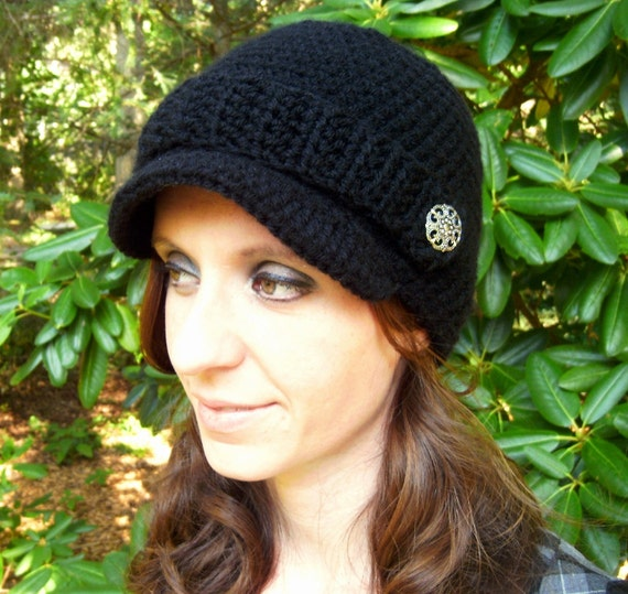 Adult Newsboy Hat...You Choose From 42 Colors