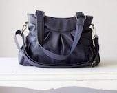 Elessa bag  in Prune Leather