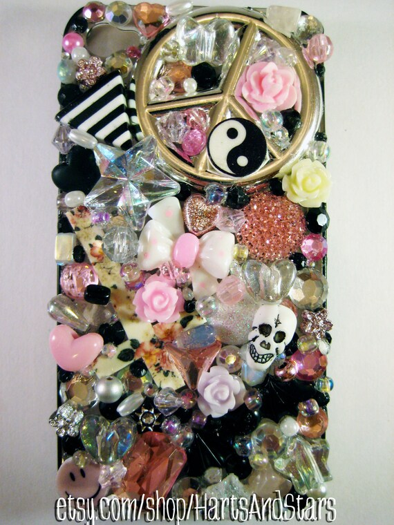 Pretty Tragic Bling iPhone Cell Phone Case