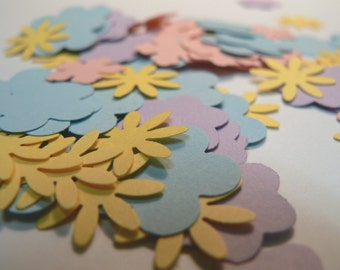 52 Hand Punched Flowers .... Cards .... Scrapbooks.... Confetti
