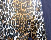 Vintage 60s Sexy Vanity Fair Leopard Print Half Slip S FREE Shipping