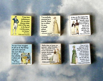Pride and Prejudice Magnet Gift Set
