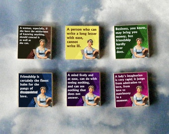JANE AUSTEN Magnet Gift Set