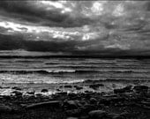 RESERVED FOR ANNETTE - Stormscape - 19x27 inches - Fine Art Photography - Digital Seascape Print by paintednegative