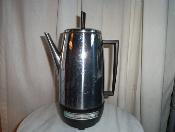 Kenmore Sears Coffee Maker Retro Style by Thesewingcottageusa