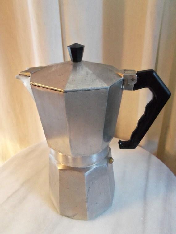Vintage Crusinallo Made in Italy Expresso Stovetop Cappuccino Maker