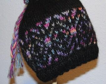 KNIT PATTERN - Kaleidosnow Hat