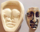 art doll face polymer clay mold