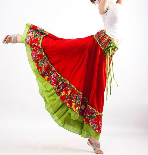 Maxi dress skirt two wear ways (MM40)