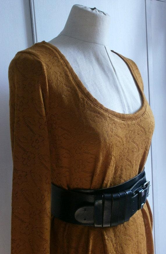 RUSTY DRESS woolen t-shirt mini dress free worldwide shipping
