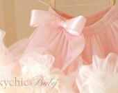 Vintage Pink and Buttercream Pettiskirt - by Cheeky Chic Baby