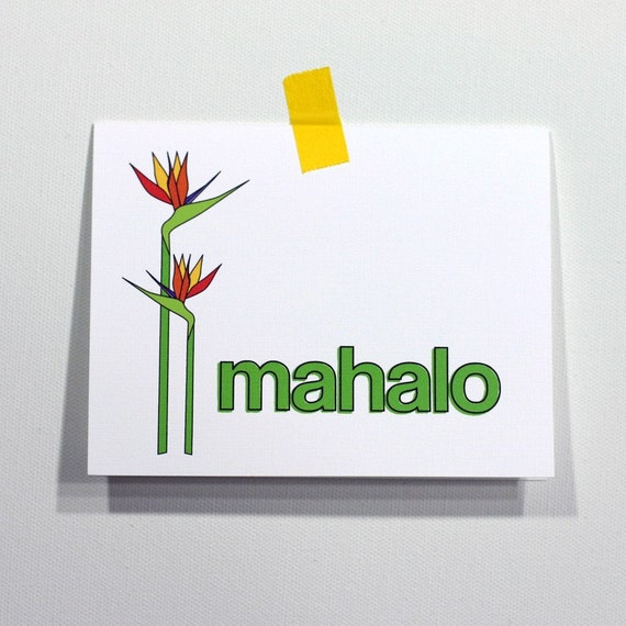 mahalo set of 4