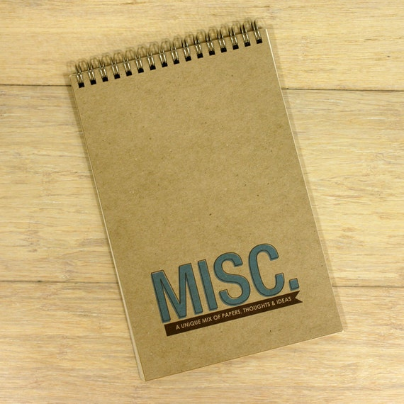 misc. notebook