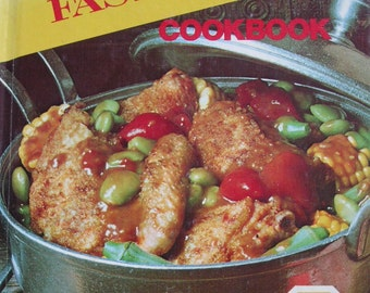 FAMILY CIRCLE Fast Meals Cookbook 1978 hardbound book very good condition